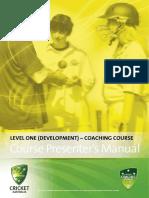 lvl 1 presenters manual
