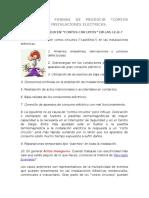 """2.1 - Diez Formas de Producir """"Cortos Circuitos"""" en Instalaciones Eléctricas."""