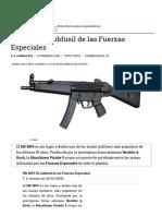 HK MP5_ El Subfusil de Las Fuerzas Especiales