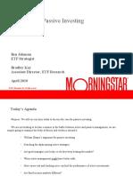 The Case for Passive Investing - ETF webinar