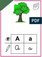 Abecedario Ilustrado Señas y Braille