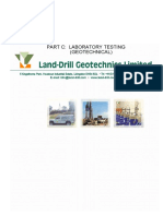 Part c Laboratory Testing-geotechnical