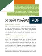 poesía y música]