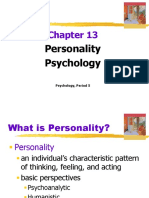 chapter 13 personality psychology