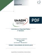 Unidad 1. Generalidades Del Derecho Penal