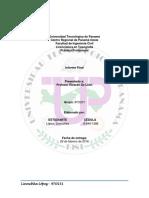 Informe Final Práctica de la Profesión