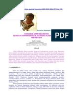 Analisis NG sebuah Kemungkinan Mtd Altern di Indonesia
