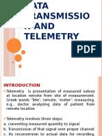 Datatransmissionandtelemetry