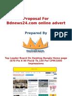 Bd News 24 Advert