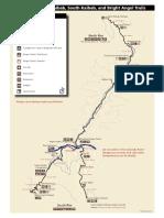 Grand Canyon Corridor map