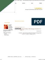 Membuat Batas DAS Dengan ArcGIS 9.3 Bag. 1