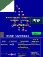 Aminoacidos Proteinas y EnzimasULA 2015