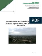 Inundaciones del río Ebro en Tudela