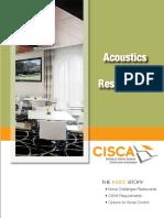 Acoustics in Restaurants