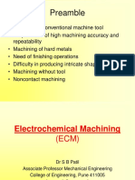 1 Electrochemical Machining (ECM)- SBP
