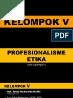 5-Profesionalisme Etika