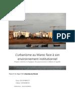 Rapport Maroc