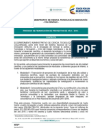 Tdr Version Consulta Conv745