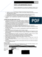 Assessment and Reporting Policy