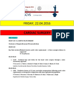 Escvs full program for cardiology session