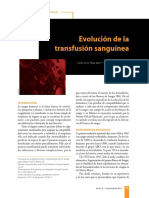 13. Evolucion de La Transfusion Sanguinea