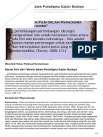 Kafecendekia.com-Film Dan Televisi Dalam Paradigma Kajian Budaya