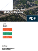 Action Planning and Strategic Planning - Asistensi