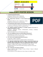 Escvs Program for VASCULAR E=POSTER session on 24.04.2016