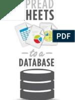 Spreadsheet vs Database