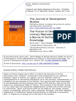 Journal of Development Studies Volume 44 Issue 2 2008 [Doi 10.1080_00220380701789828] Lewis, David; Rodgers, Dennis; Woolcock, Michael -- The Fictio