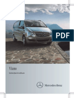 Manual Mercedes Viano w639