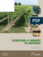 Starting a Winery in ONtario