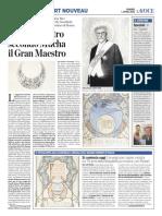 1.4.2016, 'Il Padre Nostro Secondo Mucha Il Gran Maestro', La Voce Di Romagna