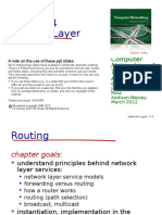 Routing Network Layer (Computer Networking)