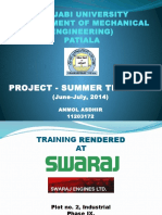 swaraj engines ltd.