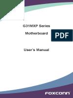 G31MXP Series Manual