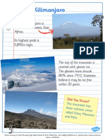 T2 G 014 Mountains of the World Fact Sheets