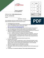 Audit Case Study Question
