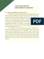 Laporan Kp Pt. Pertamina Ru v Balikpapan