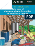 Guía para el almacenamiento hermético de semillas y granos
