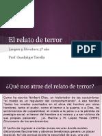 El Relato de Terror - Lengua y Literatura