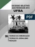 Ufba 2012 Teorias Da Com e Jornal