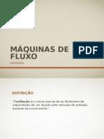 Aula 03 - Maquinas de Fluxo - Cavitação