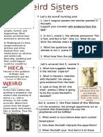 Classroom Worksheet