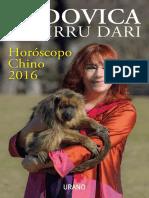Ludovica Squirru Dari - Horoscopo Chino 2016