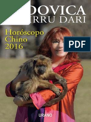 Ludovica Squirru Dari - Horoscopo Chino 2016 | Lima | Buenos