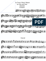 Sonate pour Flûte et Piano The trusty Music Master de Georg Philipp TELEMANN