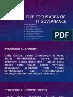 Tugas 1 - Five Focus Area of It Governance