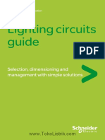 Schneider Electric M9GT13BEN Lighting Circuits Guide