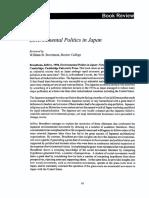 Japan-politicas Dicotomia Crecimiento-reduccion de Contaminacion